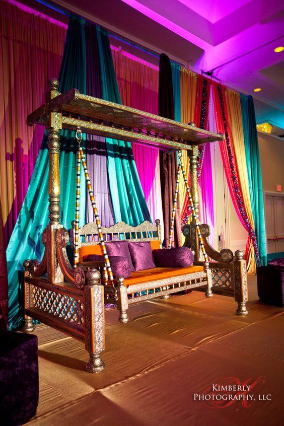 Festa com decoração árabe