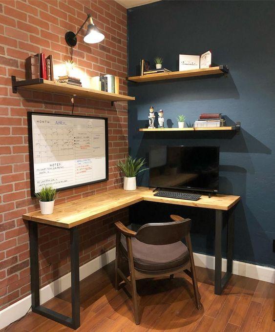 Encontre sua mesa de escritório em L perfeita