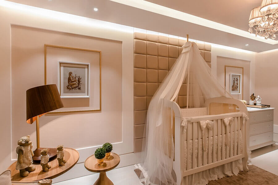 paleta de cores nude para decoração de quarto de bebê Foto TR Queiroga Arquitetura