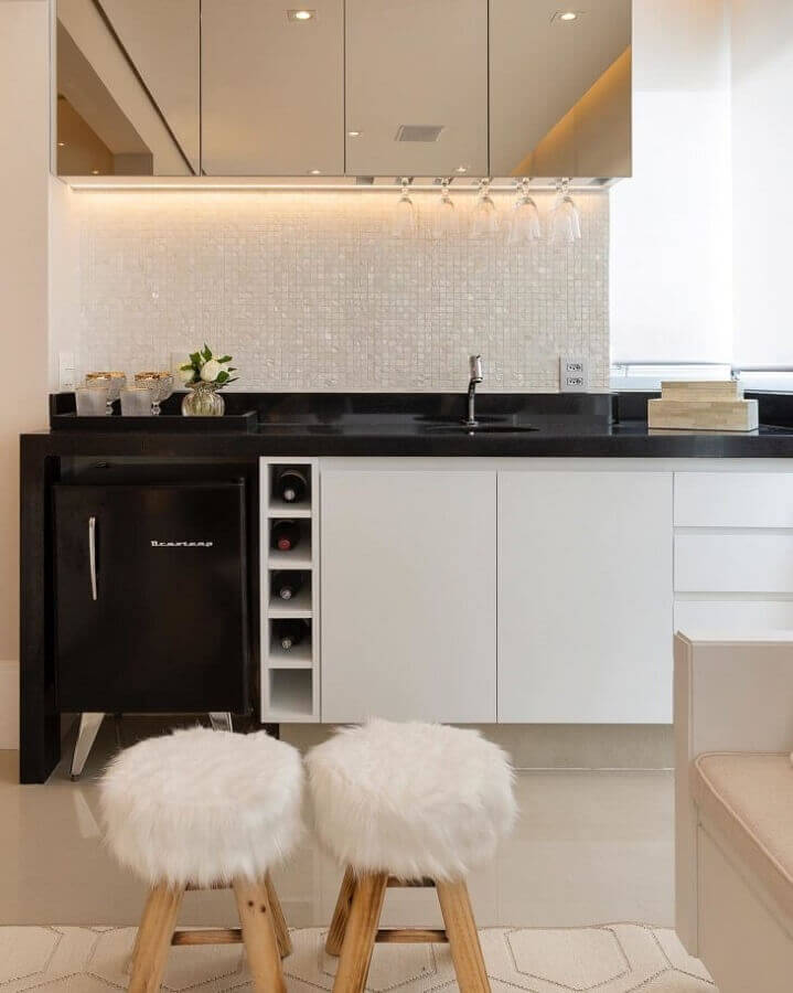Pastilha adesiva para cozinha moderna