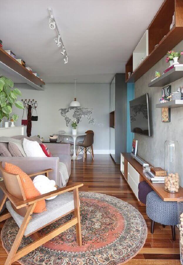 poltrona para sala de estar pequena Foto Pinterest