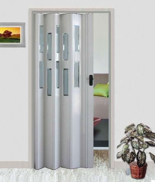 Use a porta sanfonada para ajudar na decoração da sua casa