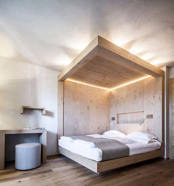 Projeto com cama flutuante