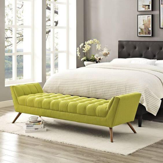 Diva recamier verde