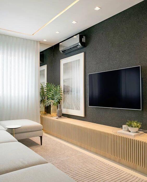 Revestimento para sala moderna