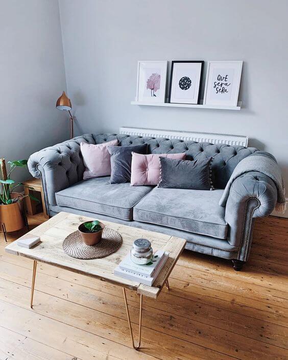 Escolha sua paleta de cores para ter uma sala linda