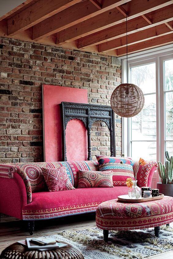 Aposte em móveis coloridos para deixar sua decoração moderna