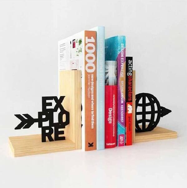 Aparador de livros criativos para quem adora explorar novos conhecimentos