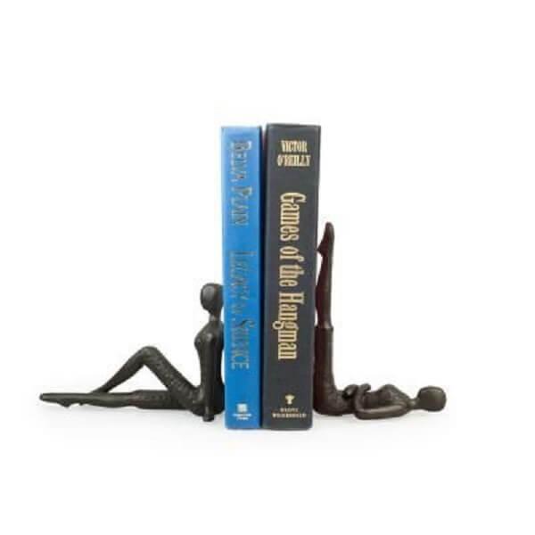 Aparador de livros para estante sofisticado