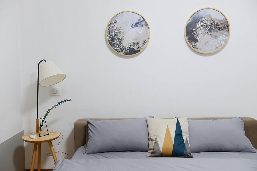 Decoração simples para apartamento pequeno