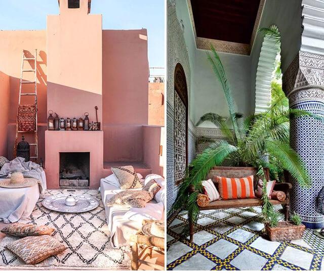 A decoração marroquina é capaz de despertar todos os sentidos nos mínimos detalhes