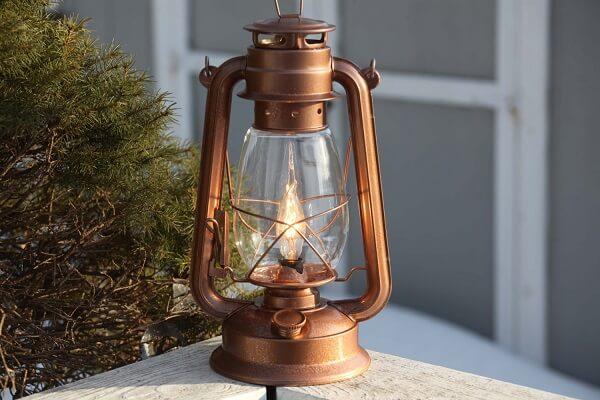Lanternas especiais para a área gourmet rústica