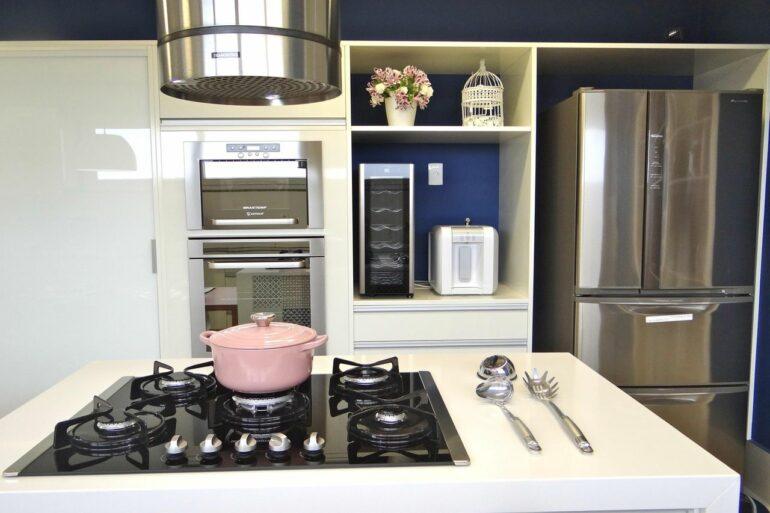 Modelo de fogão cooktop