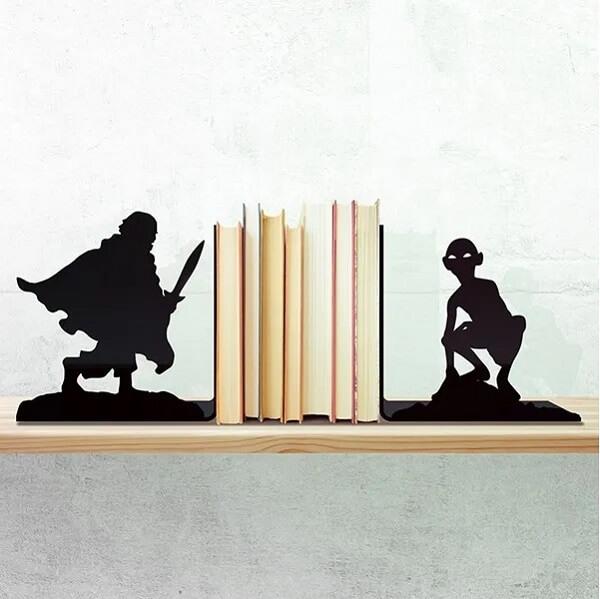 O aparador de livros geek faz muito sucesso com o público