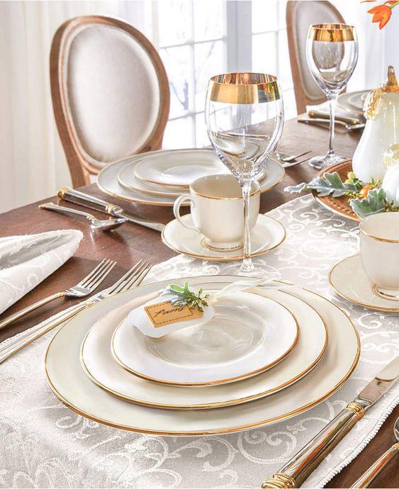 Aparelho de jantar porcelana 42 peças