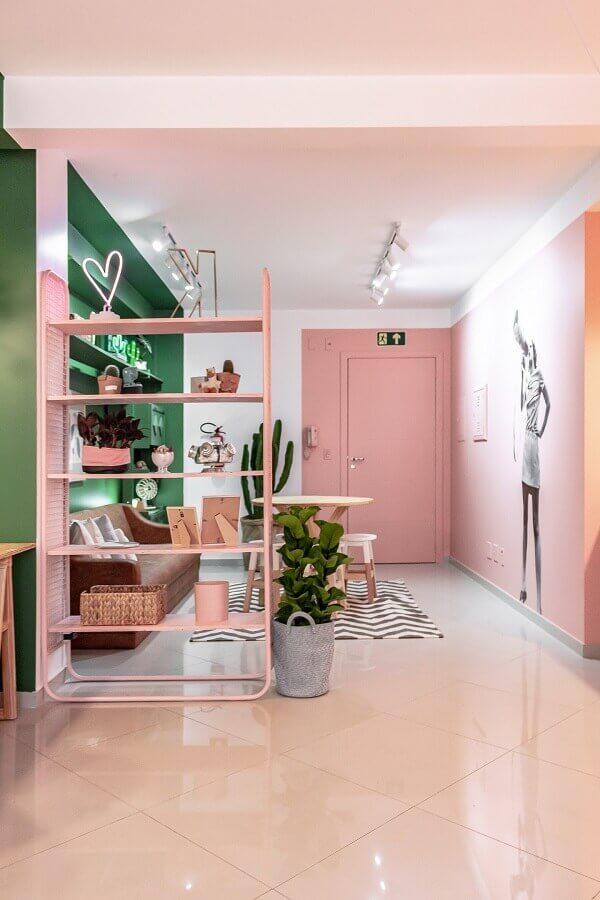 decoração de casa rosa candy colors Foto Pinterest