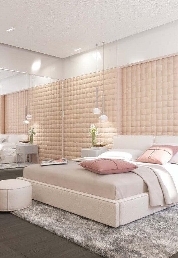 decoração de quarto feminino moderno candy colors Foto Jeito de Casa