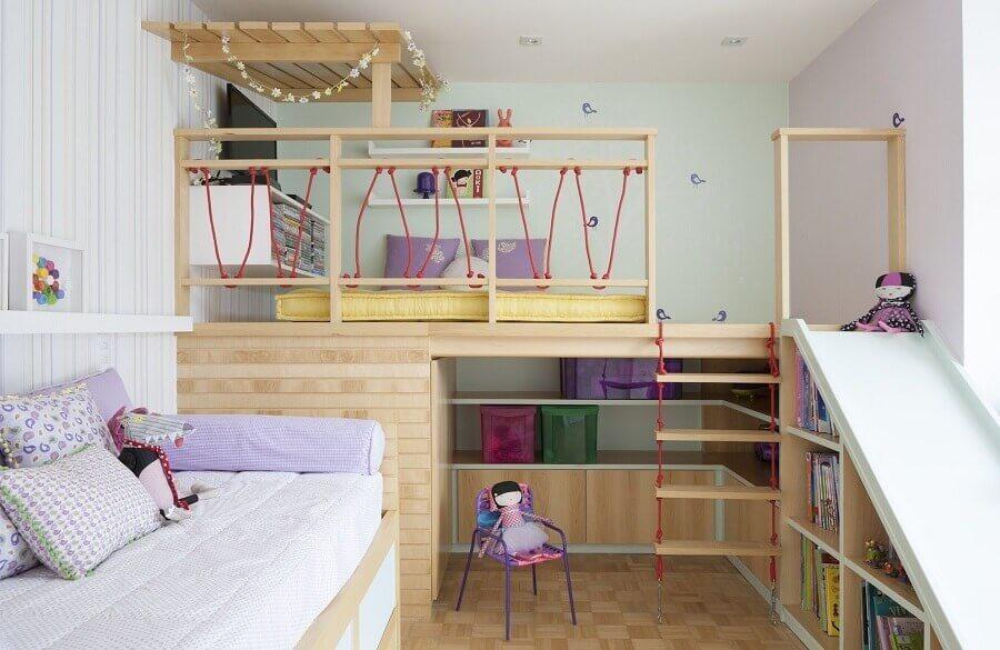 decoração lúdica para quarto infantil sob medida Foto Andrea Móveis