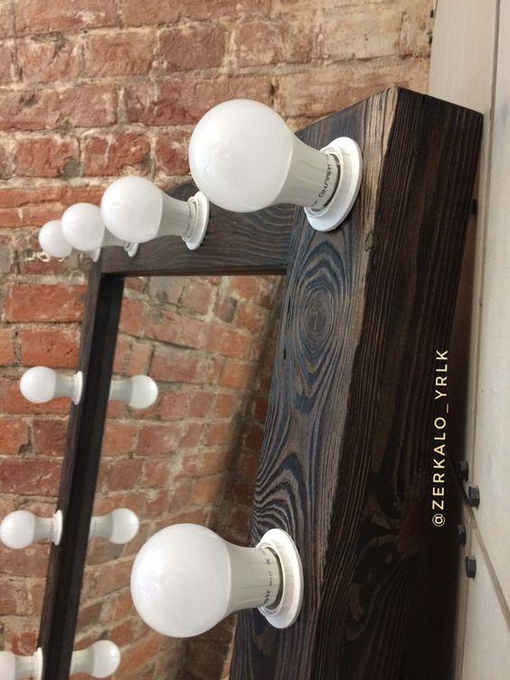 Prefira luzes de led no seu espelho camarim