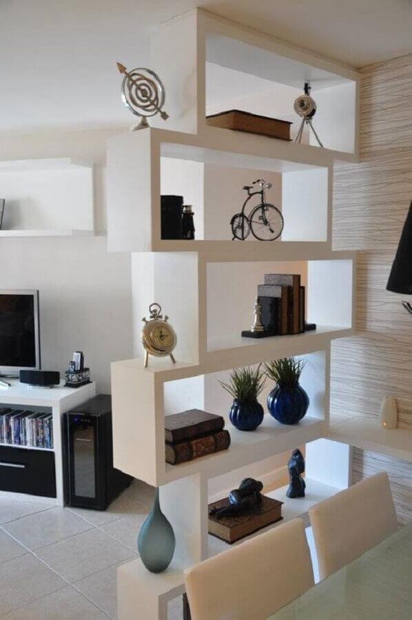 modelo de estante de nichos vazados de gesso Foto Pinterest
