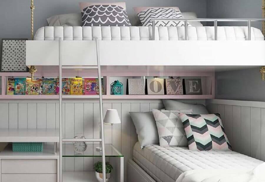 paleta candy colors para quarto planejado com beliche Foto Home Fashion Trend