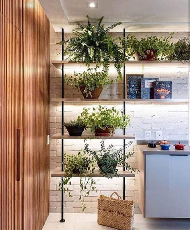 parede de tijolinho branco para decoração estilo industrial Foto Pinterest