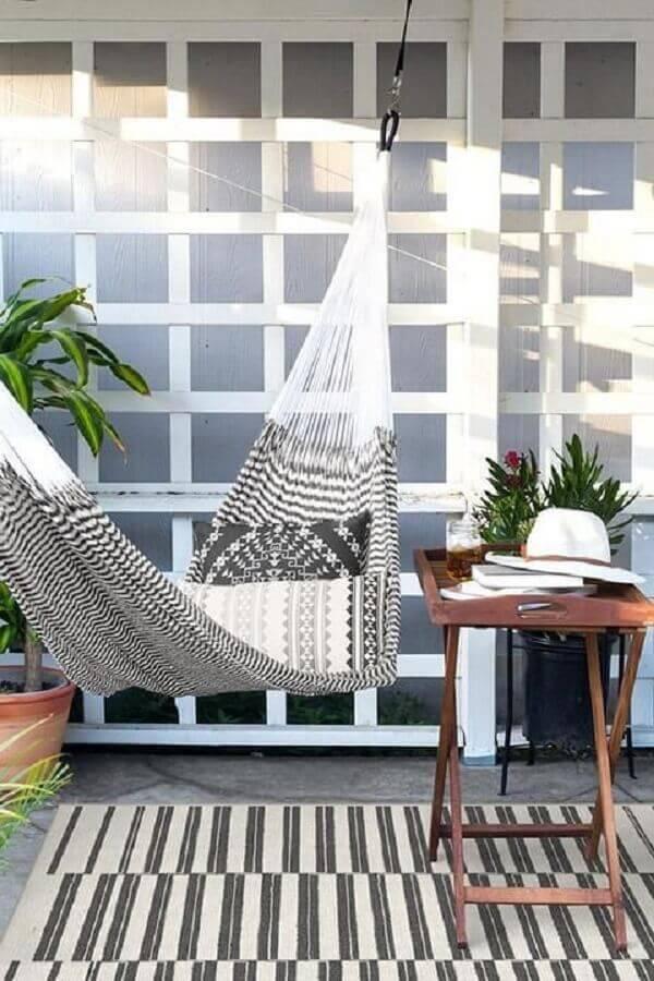 rede de desconto para varanda decorada Foto Home Fashion Trend