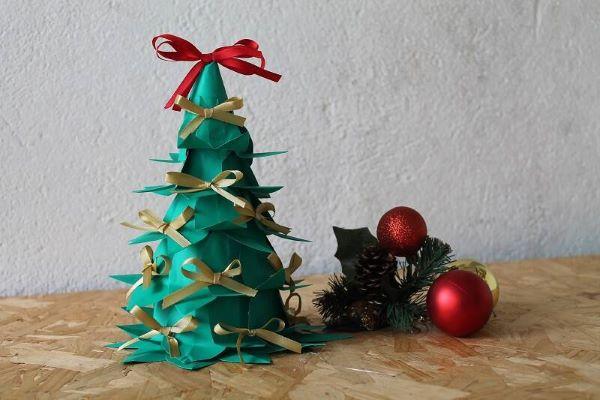 Árvore de natal de garrafa pet