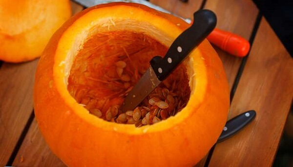 Learn how to make halloween pumpkin in a simple way