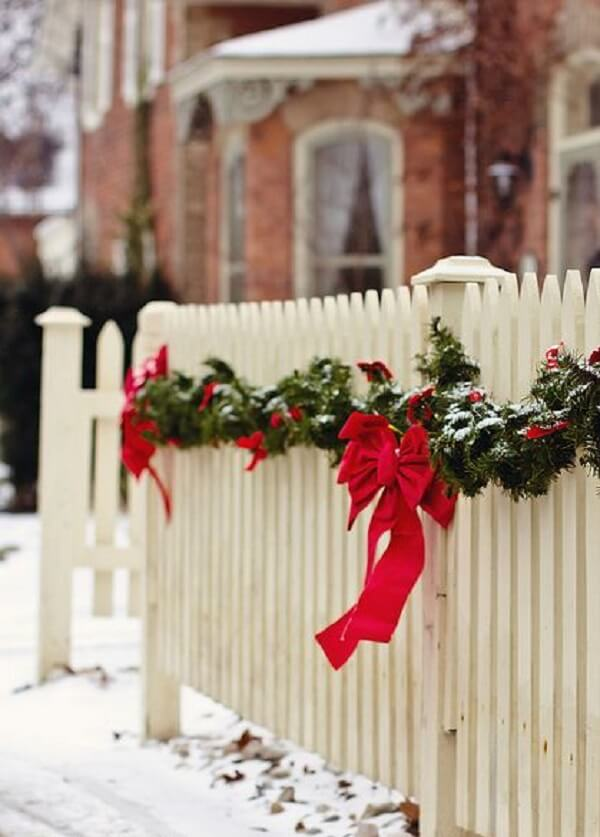 The adorned fences bring even more charm to the home