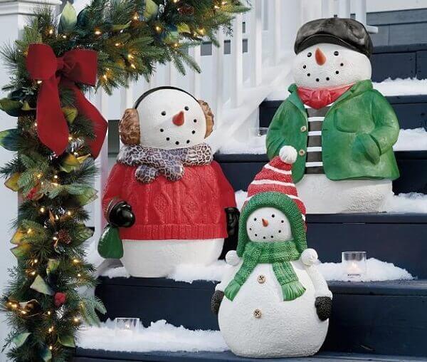 Snowdrops for Christmas garden decoration