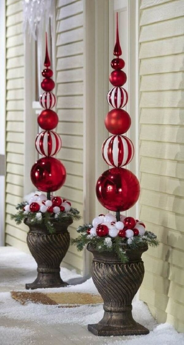 Christmas decoration for outdoor garden for front door