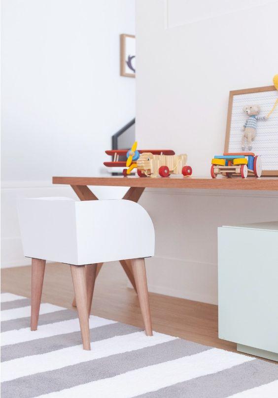 Cadeira para escrivaninha infantil branca