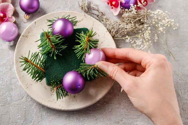 Faça você mesmo os enfeites de natal