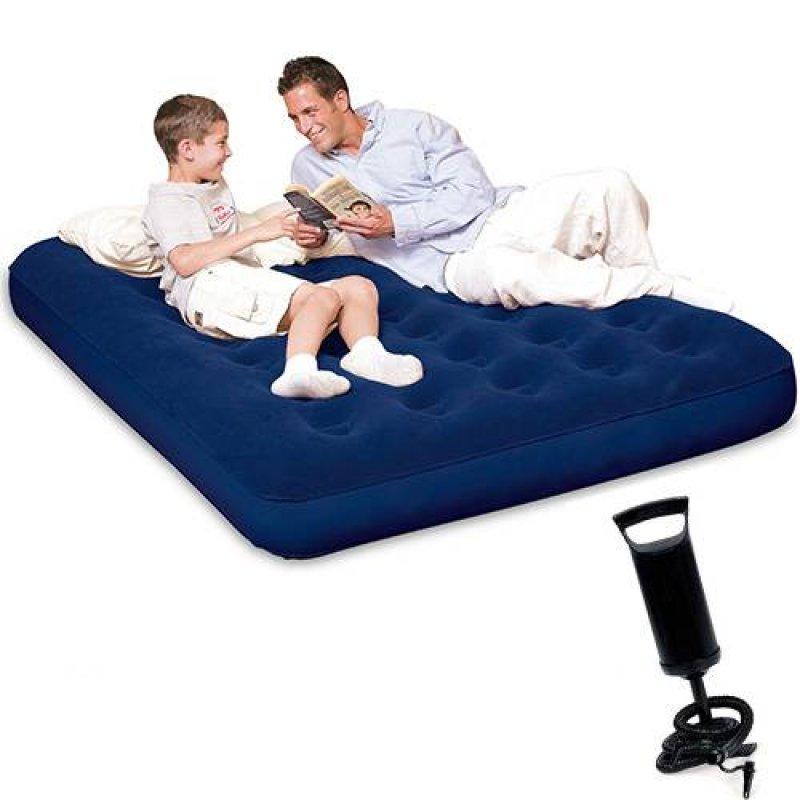 Colchão inflável casal com inflador
