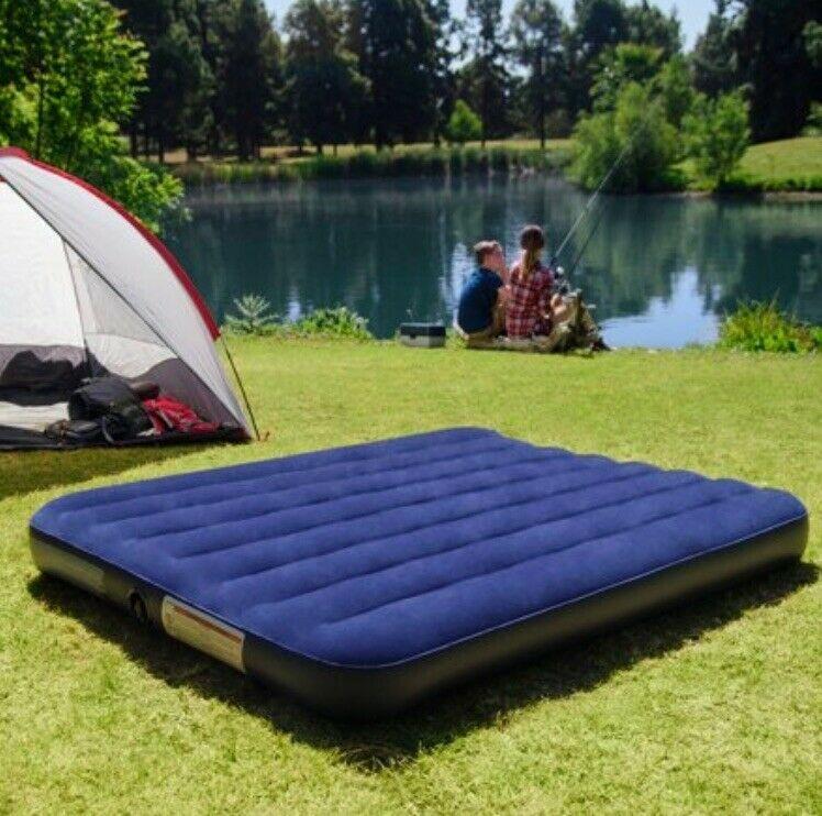 Colchão inflável casal para camping