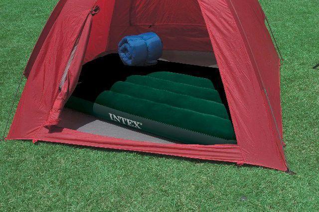 Colchão inflável solteiro para camping