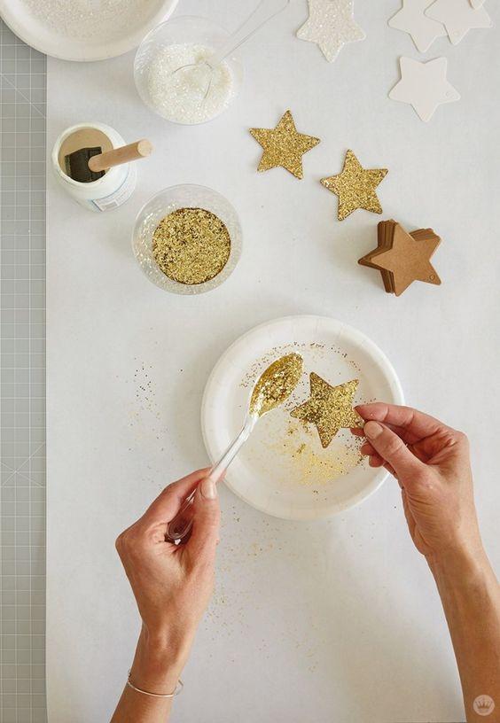 Como fazer estrela de natal