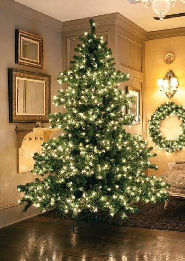 big Christmas tree decoration with blinker Absolute Christmas Photo