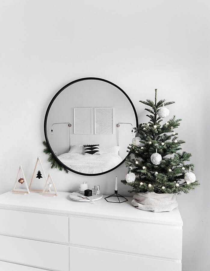 Christmas ornament for tree in minimalist decoration Photo Homey Oh My