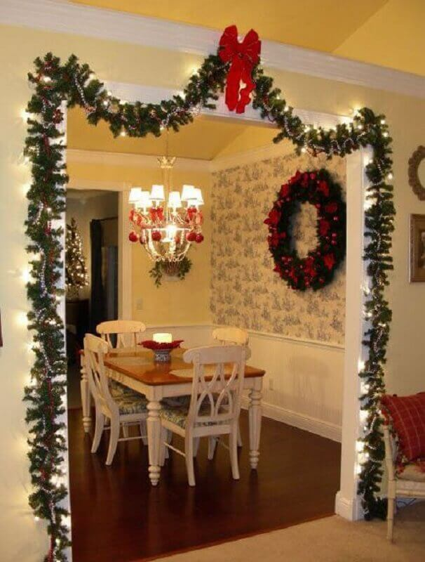 Christmas decorations with festoon Photo Witty Bash