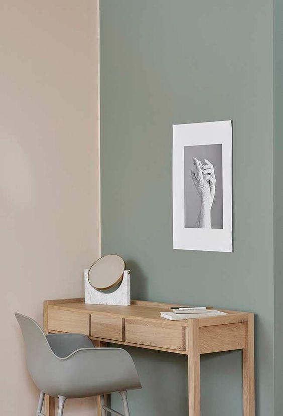 Espelho de mesa minimalista
