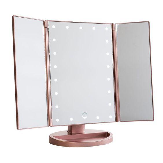 Espelho com led para mesa de maquiagem