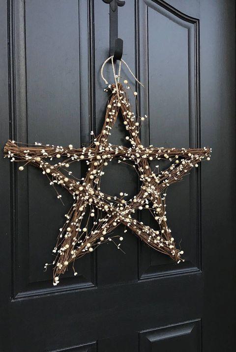 Estrela de natal de mosquitinho