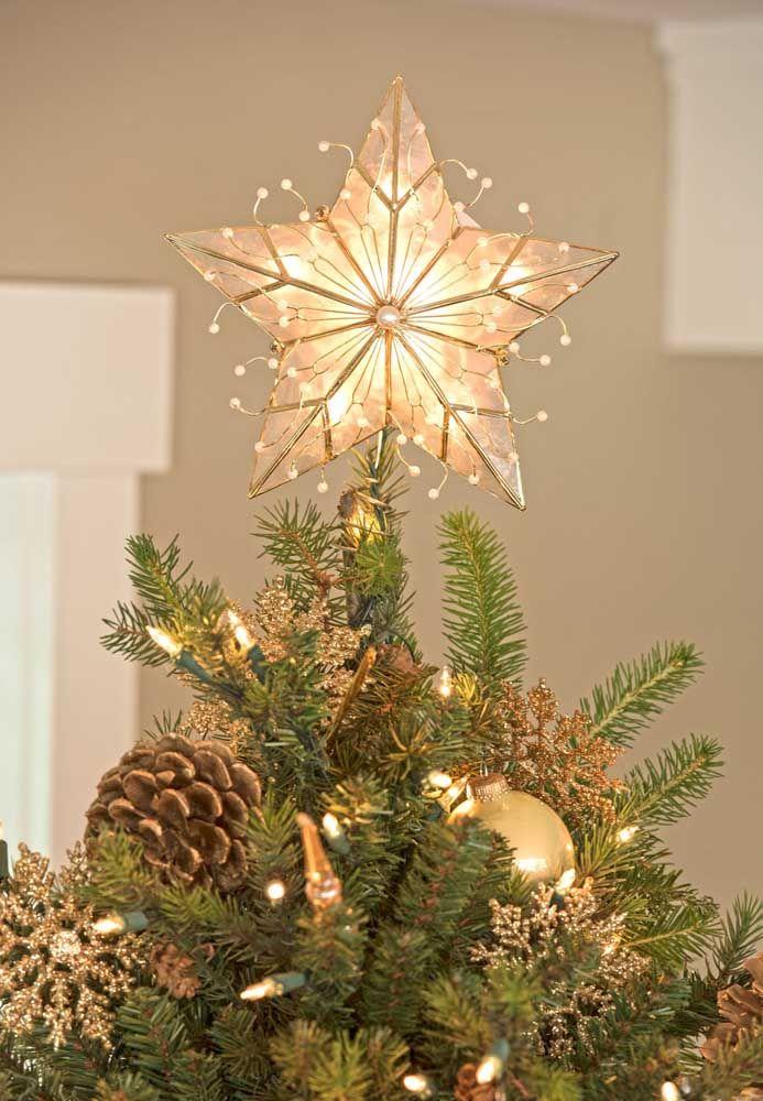 Decore sua árvore com lindas estrelas