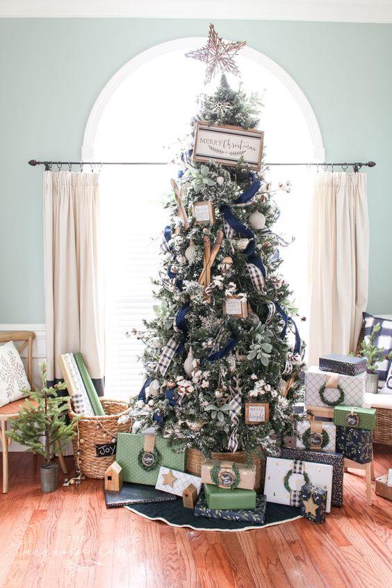 Estrela para árvore de natal