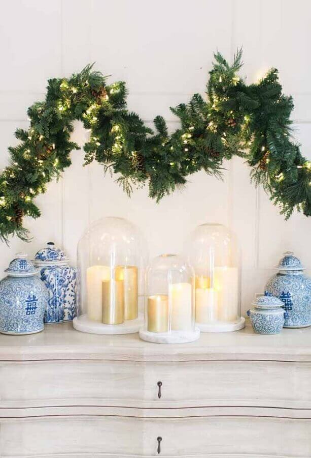 Christmas Festoon decorated with blinkers Photo Fernanda de Carvalho Architecture and Interior Design