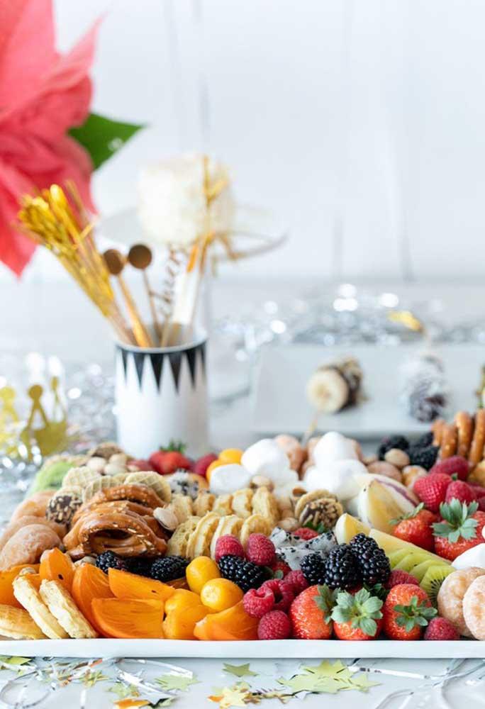 Frutas para ceia de reveillon