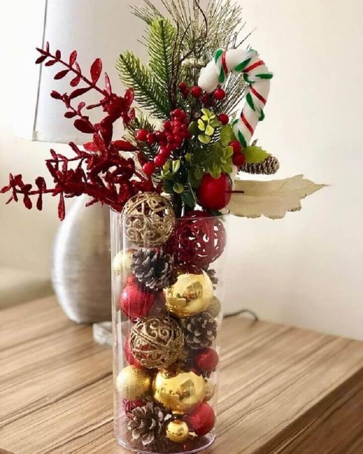creative ideas christmas decoration with glass vase decorations Photo Handicraft Magazine