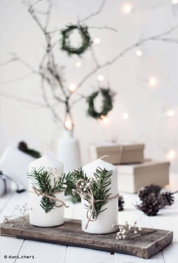 Scandinavian style Christmas decoration ideas Photo heiter & hurtig